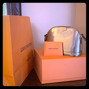 Louis Vuitton Alma Mini Patton leather
